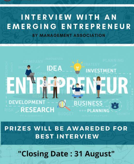 Emerging Entrepreneur