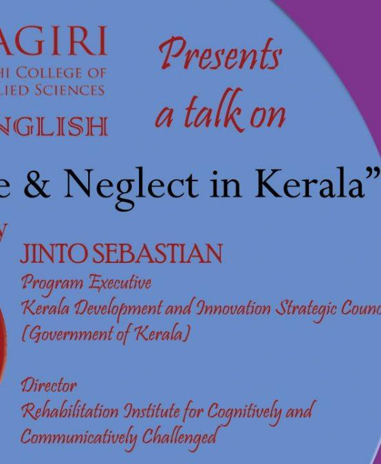 "Live talk on ""Elder Abuse & Neglect in Kerala"""